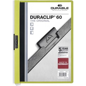 DURABLE DURACLIP Original 60 Sf. Kapasiteli - Yeşil