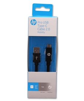 HP Pro USB Type-C Cable 2.0  BLK 1.0m