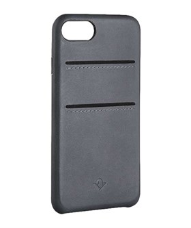 Twelve South Relaxed Leather case w/pockets - iPhone 7/8 Earl Grey